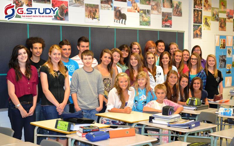 lớp học ở Canada
