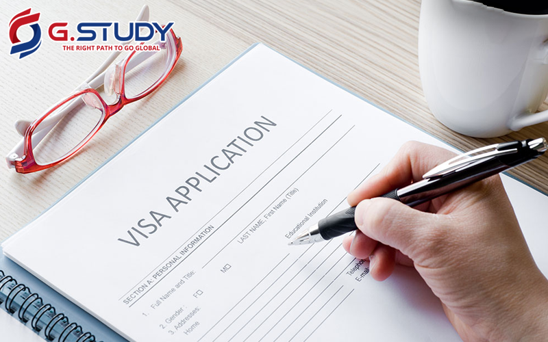 giấy xin visa du học Mỹ