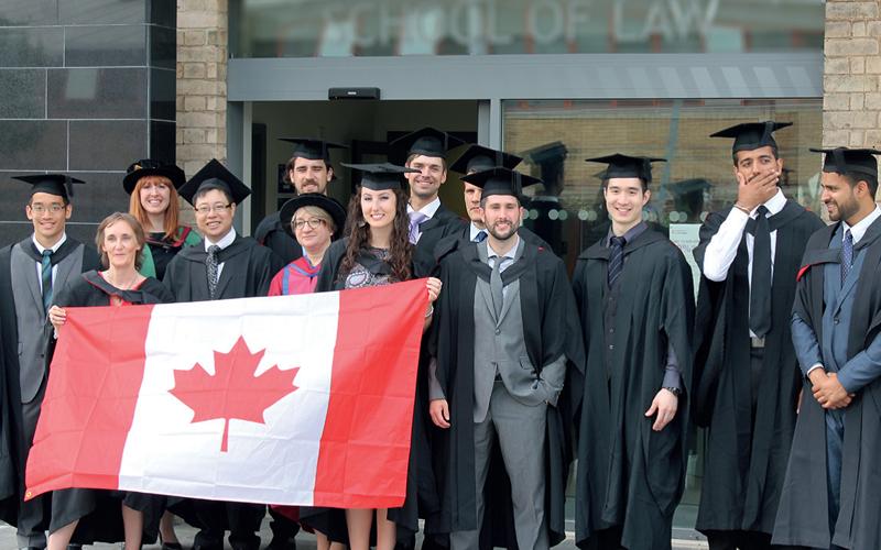Canada luôn là điểm đến yêu thích cho những bạn có ước mơ du học