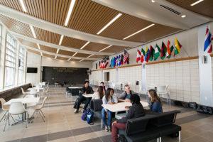 học nhóm tại trường Đại học Mỹ