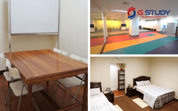 Cơ sở vật chất du học Philippines