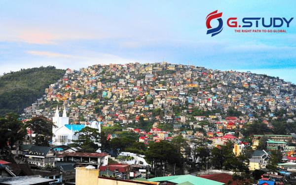 Thành phố Baguio-nơi du học Tiếng Anh tại Philippines
