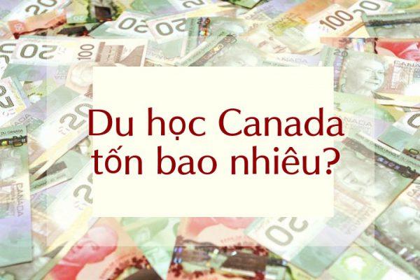 Tiền du học Canada