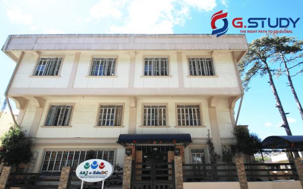 Tòa nhà giảng dạy của Anh-ngữ-AJ-e-EduDC-Academy