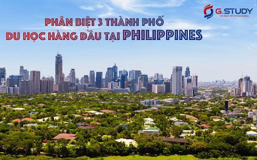 3 thành phố du học hàng đầu tại Philippines