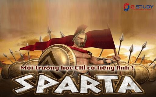 Mô hình du học tiếng Anh - Sparta